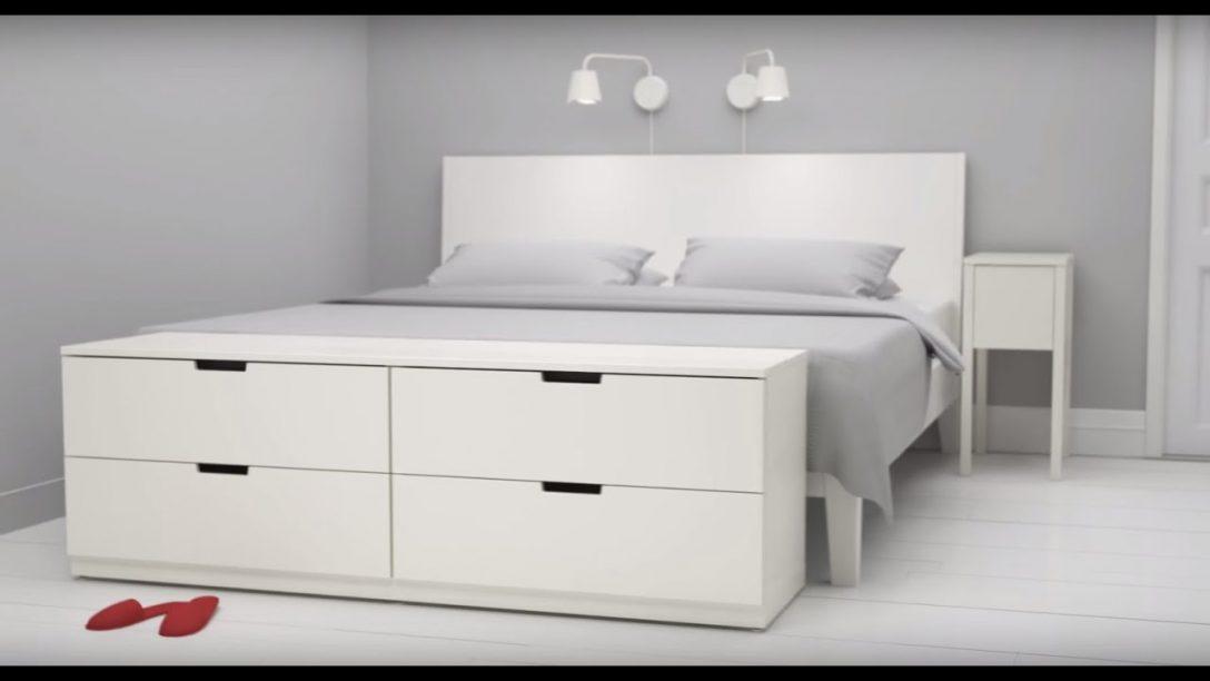 Large Size of Betten Bei Ikea Nordli Kommoden Von Kombinierst Du Kaufen 140x200 Test Massiv Flexa Dico Rauch Bock 100x200 Ruf Fabrikverkauf Günstige Sofa Mit Schlaffunktion Bett Betten Bei Ikea