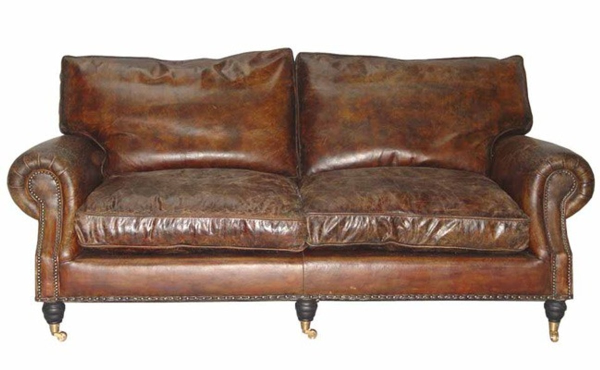 Full Size of Sofa Leder Braun Vintage Ledersofa Design Kaufen Chesterfield Gebraucht 3 Sitzer   Ikea Couch 2 Sitzer Rustikal 3 2 1 Casa Padrino Luxus Echt Sitzer Cigar Sofa Sofa Leder Braun