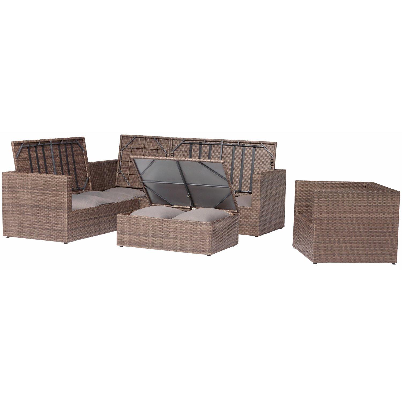 Full Size of Lounge Möbel Garten Gartenmbel Gruppe Livingston 5 Teilig Kaufen Bei Obi Loungemöbel Holz Schaukelstuhl Sonnensegel Sichtschutz Kinderschaukel Brunnen Im Garten Lounge Möbel Garten