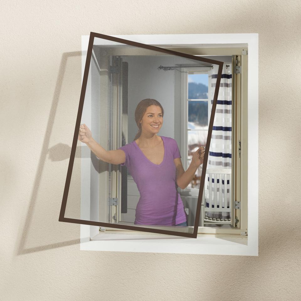 Full Size of Aluminium Insektenschutz Fenster Braun 130x150 Preiswert Schallschutz Insektenschutzgitter Ohne Bohren Mit Rolladen Sonnenschutz Für Erneuern Kosten Fenster Insektenschutz Fenster Ohne Bohren