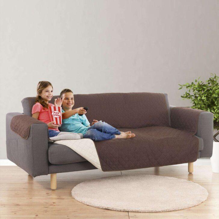 Easymaxsofaberzug Couch Coat 3 Sitzer 180x290cm Braun Beige Sofa Rund Große Kissen De Sede Karup Big Kaufen überzug Konfigurator Vitra Boxspring Copperfield Sofa Sofa überzug