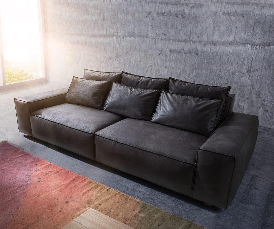 Large Size of Delife Sofa Big Sofa Violetta 310x135 Braun Antik Optik Hocker Big Couch Clovis Xxl Life Coach Silas Gelb Kolonialstil Samt Kunstleder Weiß Togo 2 Sitzer Mit Sofa Delife Sofa