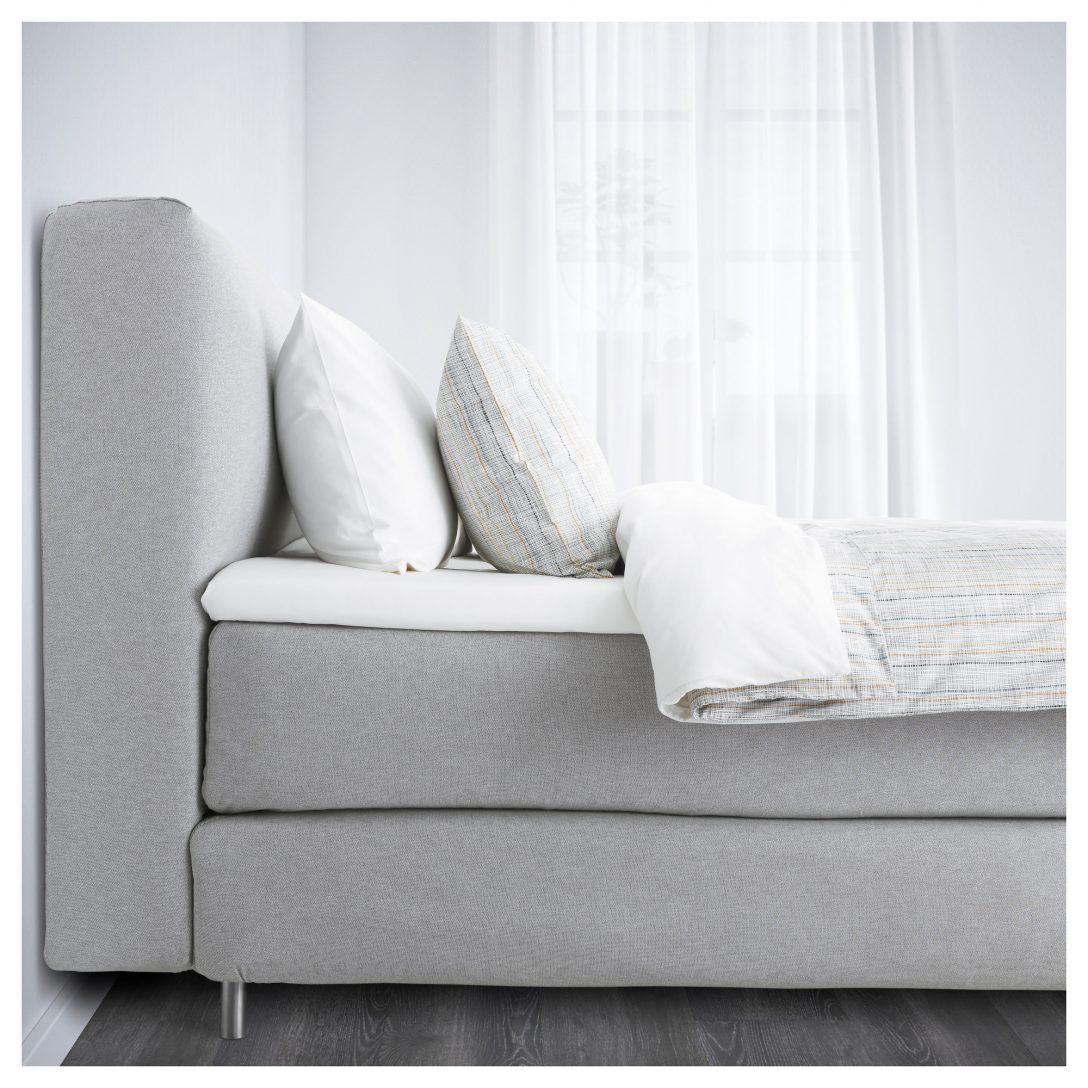 Large Size of Bett Günstig Kaufen Boxspringbett Mjlvik Von Ikea Der Groe Bettentest Sonoma Eiche 140x200 Platzsparend 140 X 200 Prinzessinen 120x200 Schlafzimmer Komplett Bett Bett Günstig Kaufen