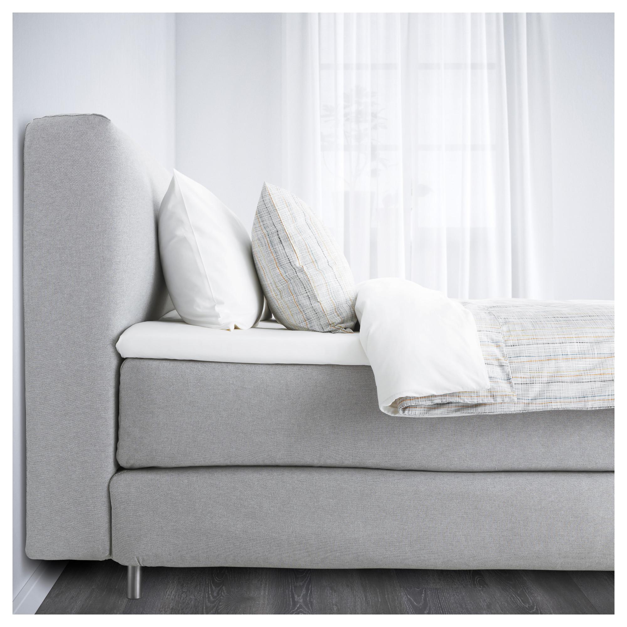 Full Size of Bett Günstig Kaufen Boxspringbett Mjlvik Von Ikea Der Groe Bettentest Sonoma Eiche 140x200 Platzsparend 140 X 200 Prinzessinen 120x200 Schlafzimmer Komplett Bett Bett Günstig Kaufen