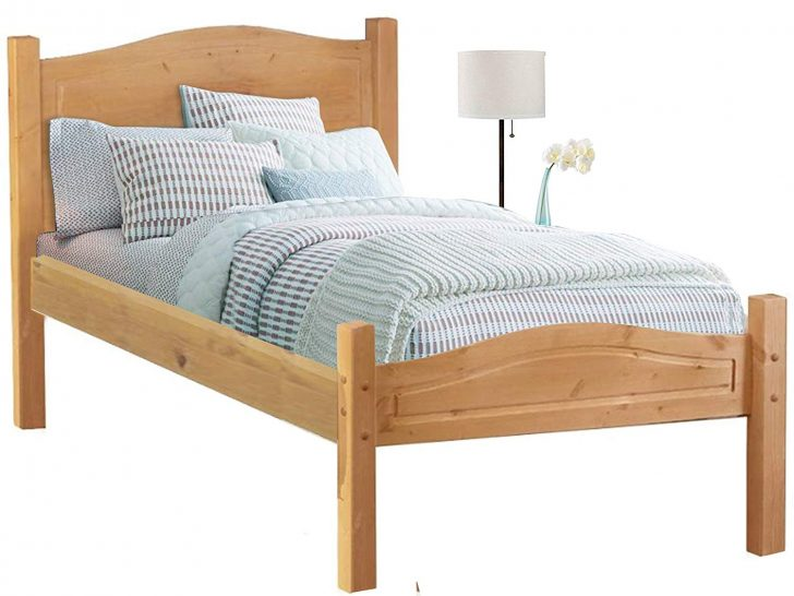 Medium Size of Kiefer Bett 90x200 Loft24 Cm Bettgestell Massivholz Einzelbett Mädchen Betten Skandinavisch 200x220 Paletten 140x200 Massiv Günstige 180x200 Weiß Bett Kiefer Bett 90x200