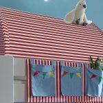 Steens Bett Hochbett For Kids Wei Mdf Vorhnge Zirkus 90x200 Cm Boxspring Landhausstil Balinesische Betten Weißes 160x200 Mit Gepolstertem Kopfteil Liegehöhe Bett Steens Bett