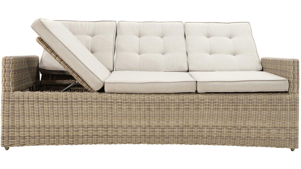 Full Size of Polyrattan Garden Sofa Set Couch Ausziehbar Lounge Tchibo 2 Sitzer Balkon Gartensofa 2 Sitzer Grau Outdoor Plo Loungesofa Sahara Als Gartenmbel Bezug Sofa Polyrattan Sofa