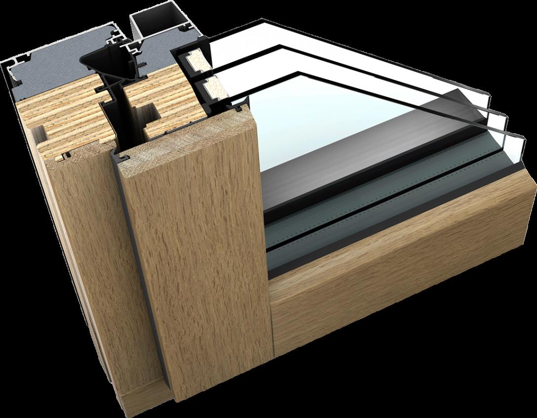 Large Size of Aluminium Fenster Holz Alu Der Anderen Art Mit Schichtholz Kern Bodentiefe Standardmaße Sonnenschutz Innen Sichtschutzfolie Felux Einbruchsicherung Fenster Aluminium Fenster