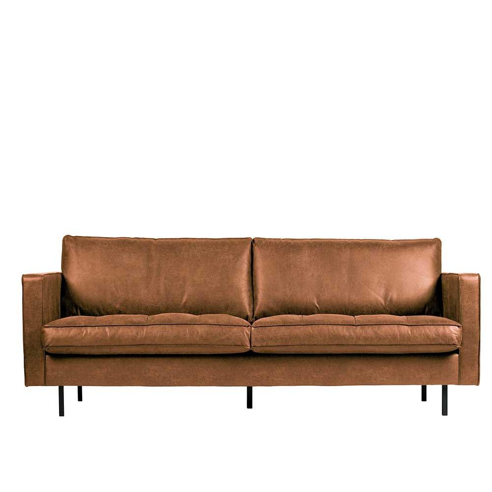 Full Size of Sofa Leder Braun Gebraucht Kaufen Rustikal 2 Sitzer   Chesterfield 3 2 1 Set Ledersofa Design Ikea Couch Vintage Otto Sitzer In Cognac Aus Recyclingleder 230cm Sofa Sofa Leder Braun