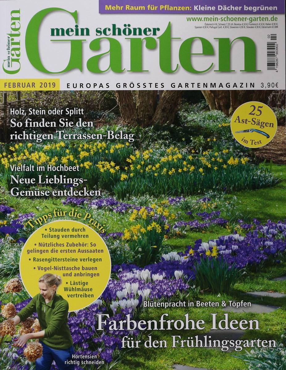Full Size of Garten Zeitschrift Mein Schner 2 2019 Zeitungen Und Zeitschriften Online Kräutergarten Küche Landschaftsbau Berlin Jacuzzi Sichtschutz Wpc Relaxsessel Aldi Garten Garten Zeitschrift