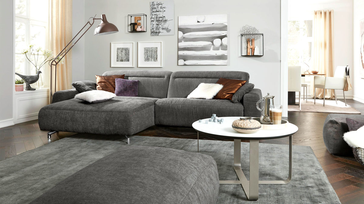 Full Size of Stoff Sofa Grau Reinigen Grober Big 3er Ikea Couch Gebraucht Chesterfield Meliert Kaufen Ligne Roset Leder Heimkino U Form Ottomane Home Affaire Xxl Günstig Sofa Sofa Grau Stoff