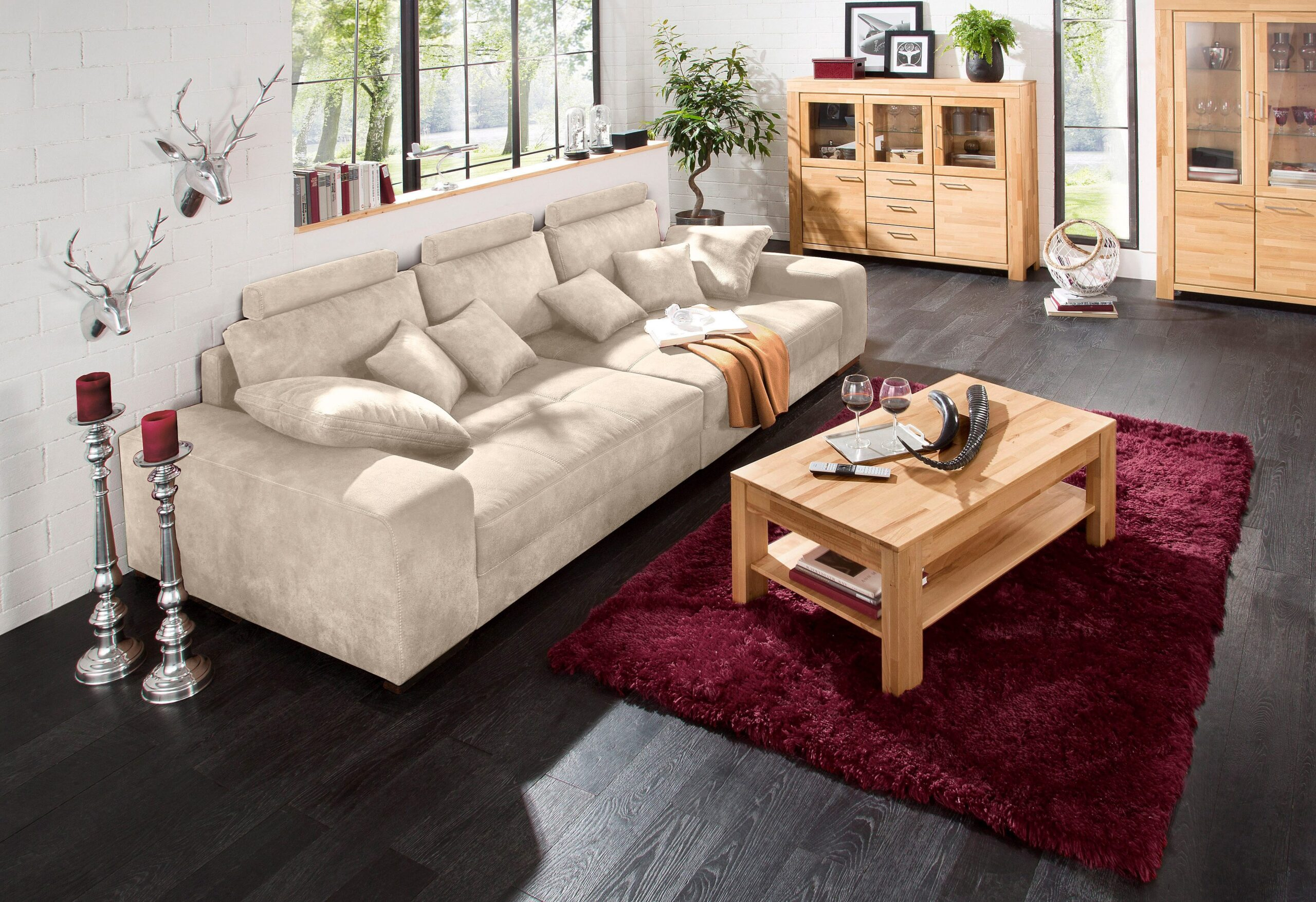 Full Size of Sofa 3 Sitzer Mit Schlaffunktion Marken Big Sam L Form Garnitur Teilig Hannover Wildleder Schillig Comfortmaster Luxus Brühl Tom Tailor Holzfüßen Sofa Home Affaire Big Sofa