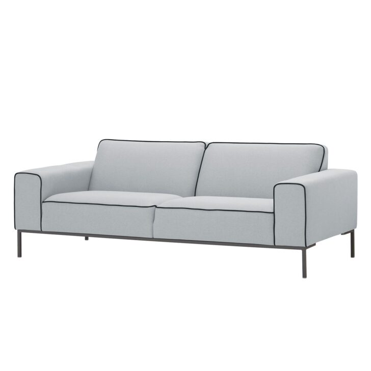 Medium Size of Sofa 3 Sitzer Nino Schwarz/grau Louisiana (3 Sitzer Mit Polster Grau) 3 Sitzer Grau Ikea Couch Leder Retro Kingsley Ampio Duo Webstoff Stoff Floreana Big L Sofa Sofa 3 Sitzer Grau