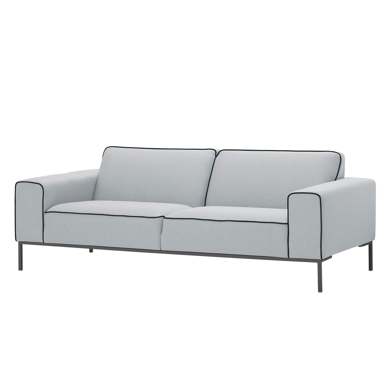 Full Size of Sofa 3 Sitzer Nino Schwarz/grau Louisiana (3 Sitzer Mit Polster Grau) 3 Sitzer Grau Ikea Couch Leder Retro Kingsley Ampio Duo Webstoff Stoff Floreana Big L Sofa Sofa 3 Sitzer Grau