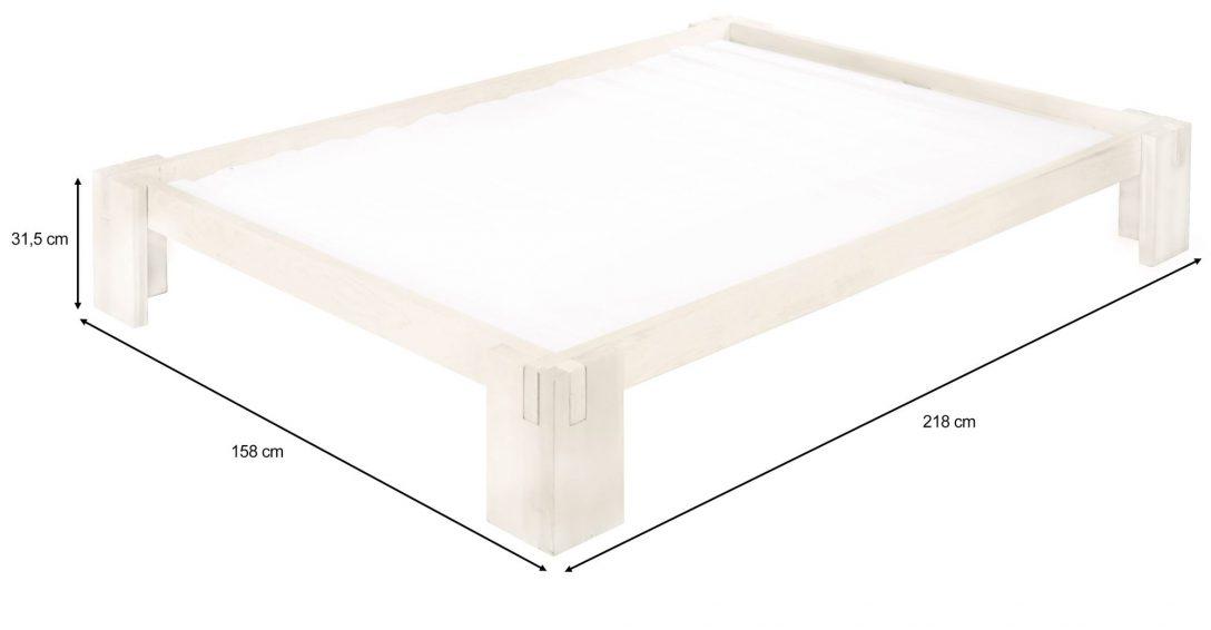 Large Size of Biodario Bett 140x200 Cm Kiefer Wei Lasiert Dänisches Bettenlager Badezimmer Außergewöhnliche Betten Mit Bettkasten 90x200 Luxus Sofa überlänge Bett Bett 140 X 200