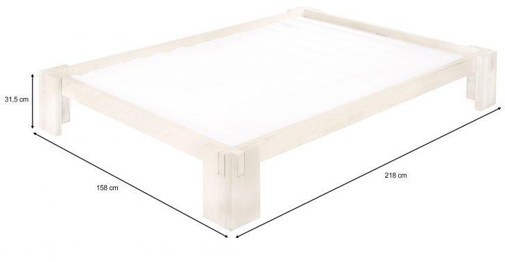 Medium Size of Biodario Bett 140x200 Cm Kiefer Wei Lasiert Dänisches Bettenlager Badezimmer Außergewöhnliche Betten Mit Bettkasten 90x200 Luxus Sofa überlänge Bett Bett 140 X 200
