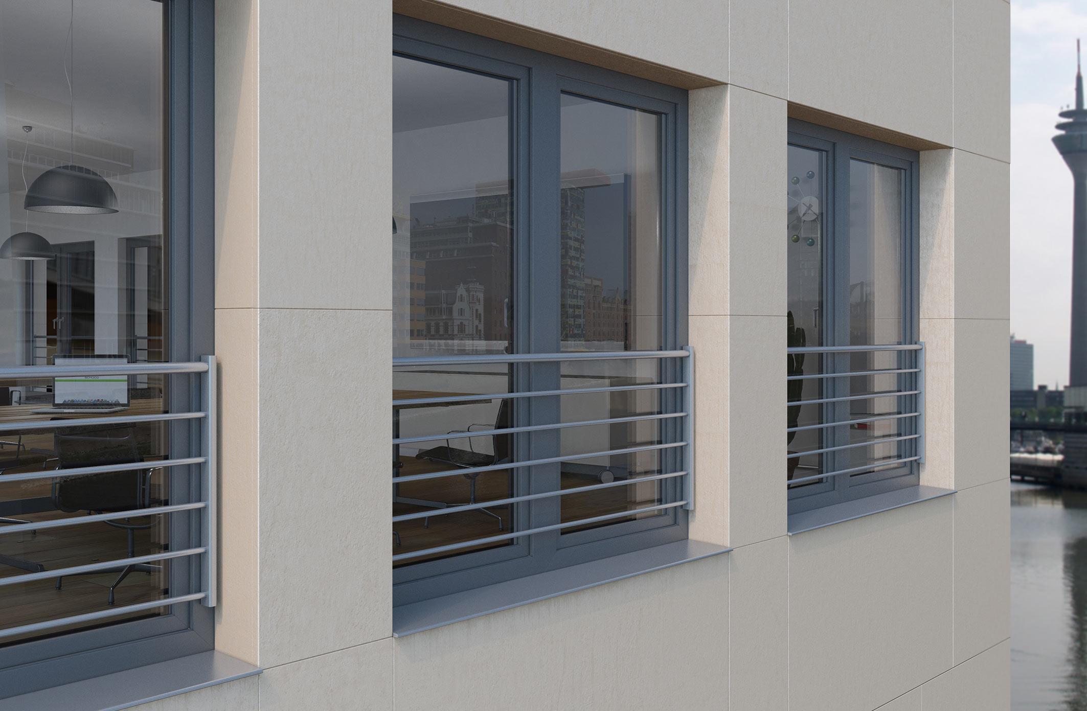 Full Size of Fenster Schüco Absturzsicherungen Fr Bodentiefe Schco Kunststoff Trier Bauhaus Veka Jalousien Innen Alarmanlage Fliegengitter Rollos Ohne Bohren Roro Fenster Fenster Schüco