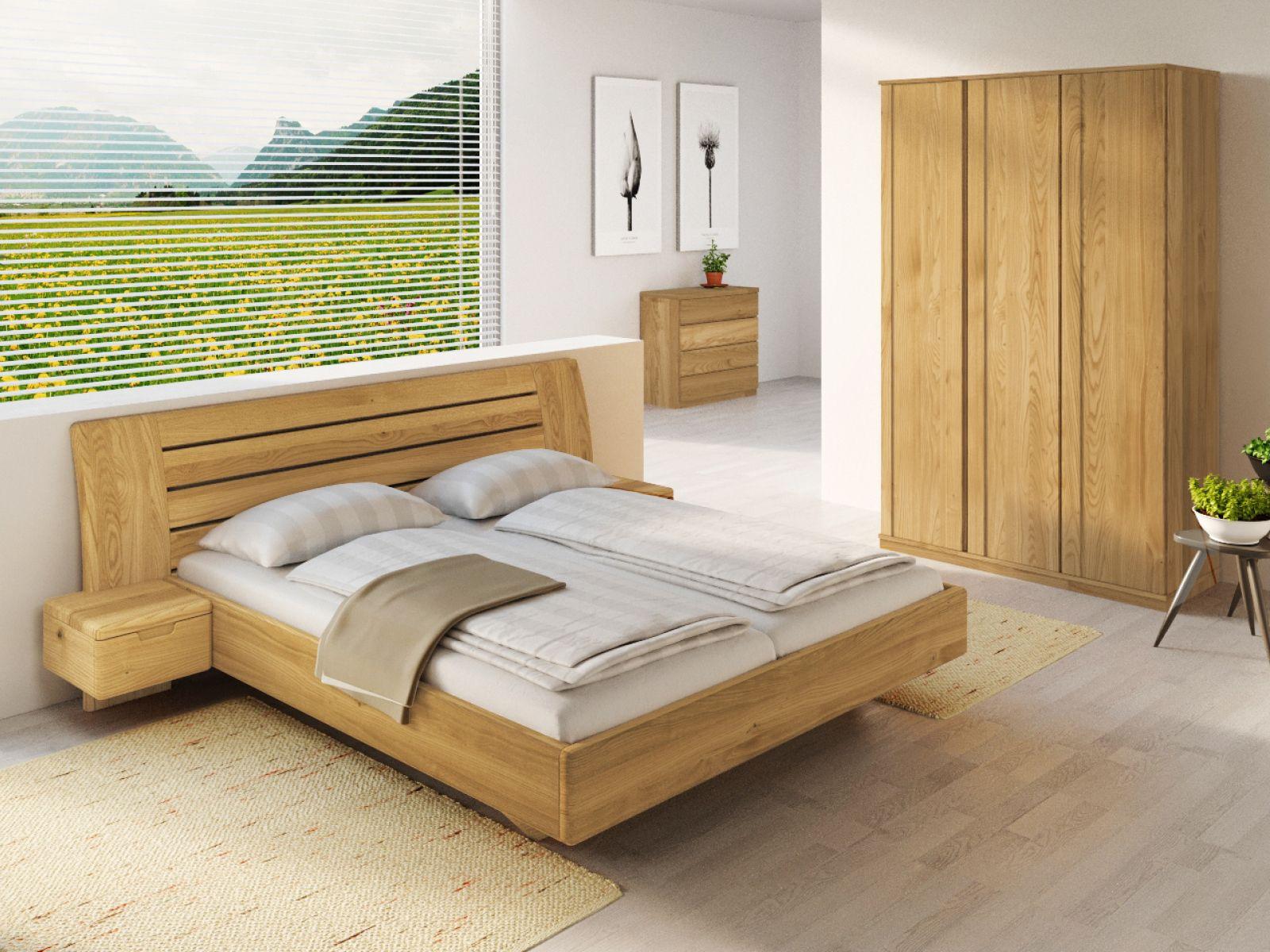 Full Size of Eichenbett Bettina Betten Günstig Kaufen 180x200 Bett Eiche Schlicht Nussbaum Mit Bettkasten 140x200 Ausziehbares Einfaches Weiß 160x200 Tempur Konfigurieren Bett Bett 220 X 200