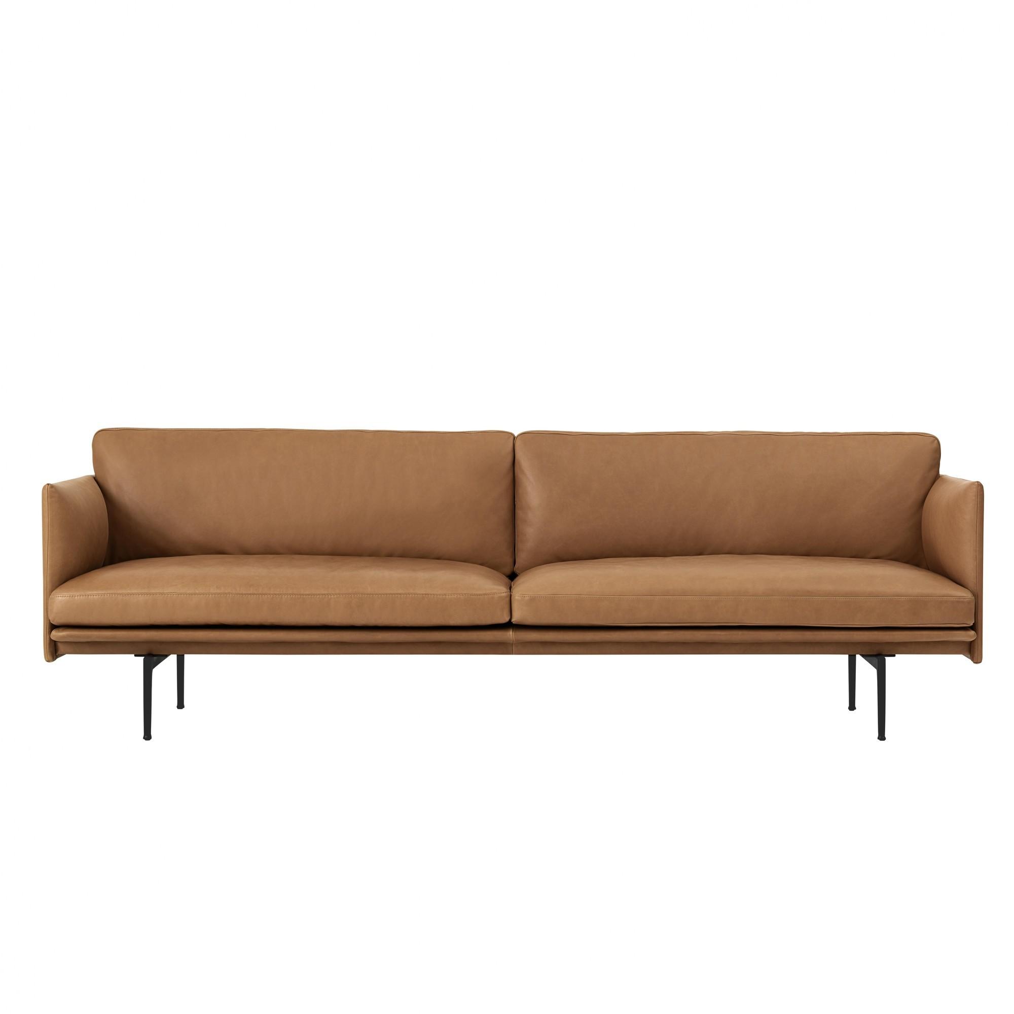 Full Size of Sofa Cognac Muuto Outline 3 Seater Ambientedirect 3er Grau Zweisitzer Erpo Xxl Günstig Mit Verstellbarer Sitztiefe Bunt 2 Sitzer Schlaffunktion Bezug Big Sofa Sofa Cognac