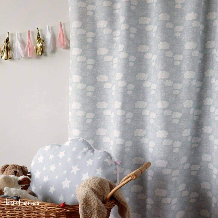 Medium Size of Kinderzimmer Vorhänge Dekostoff Grau Weiss Wolken Oder Sterne Bartienes Regal Regale Weiß Wohnzimmer Schlafzimmer Küche Sofa Kinderzimmer Kinderzimmer Vorhänge