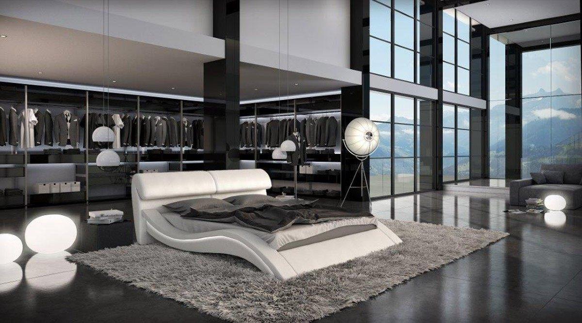 Full Size of Modernes Bett Designerbett Azure Das Mit Exklusiven Design 140x200 Günstig Zum Ausziehen Stauraum 160x200 Gästebett Großes Betten Selber Bauen 180x200 Bett Modernes Bett