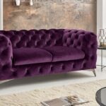 Sofa Lila 2 Sitzer Chesterfield Big Emma Samt Purple Grünes Hersteller Reiniger Kleines Wohnzimmer Marken Rotes Mit Recamiere Mondo Megapol Zweisitzer Mega Sofa Sofa Lila