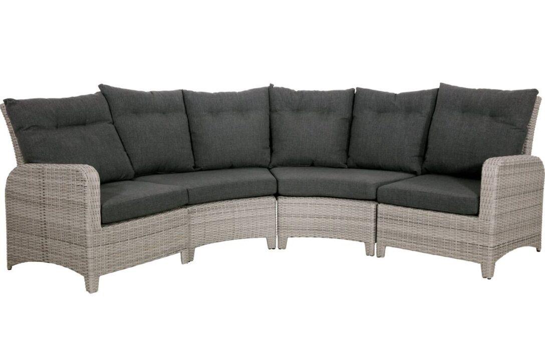 Large Size of Halbrundes Sofa Loungebank In Grau Anthrazit Geflecht Gnstig Online Abnehmbarer Bezug Impressionen Gelb überwurf Englisches Natura Big Braun Heimkino Englisch Sofa Halbrundes Sofa