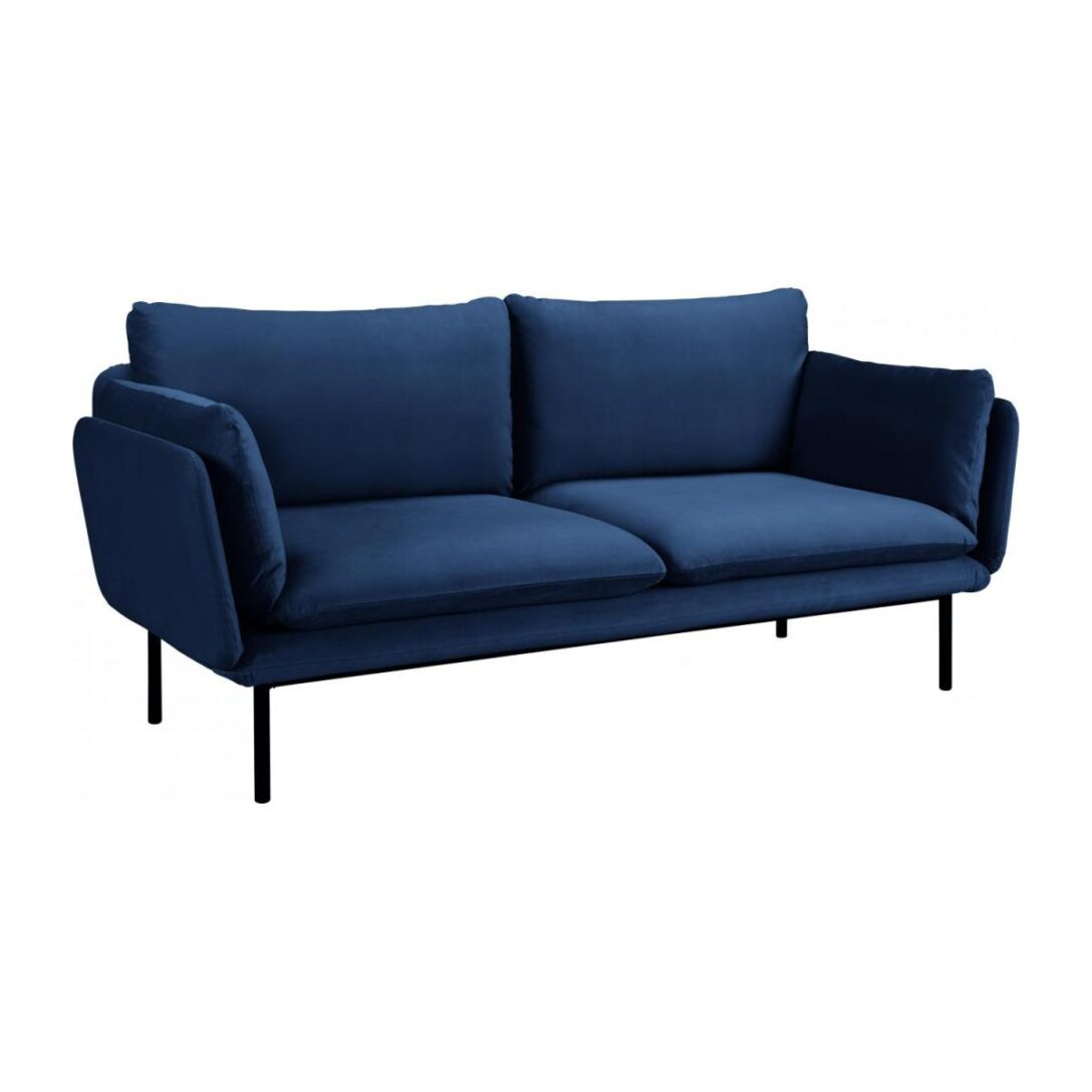 Large Size of Riva 3 Sitzer Sofa Aus Samt Marineblau Habitat Polyrattan Mit Bettkasten Garnitur Teilig Big Grau Kleines Wohnzimmer Xxxl Karup Poco Tom Tailor Hülsta Xxl Sofa Sofa Samt