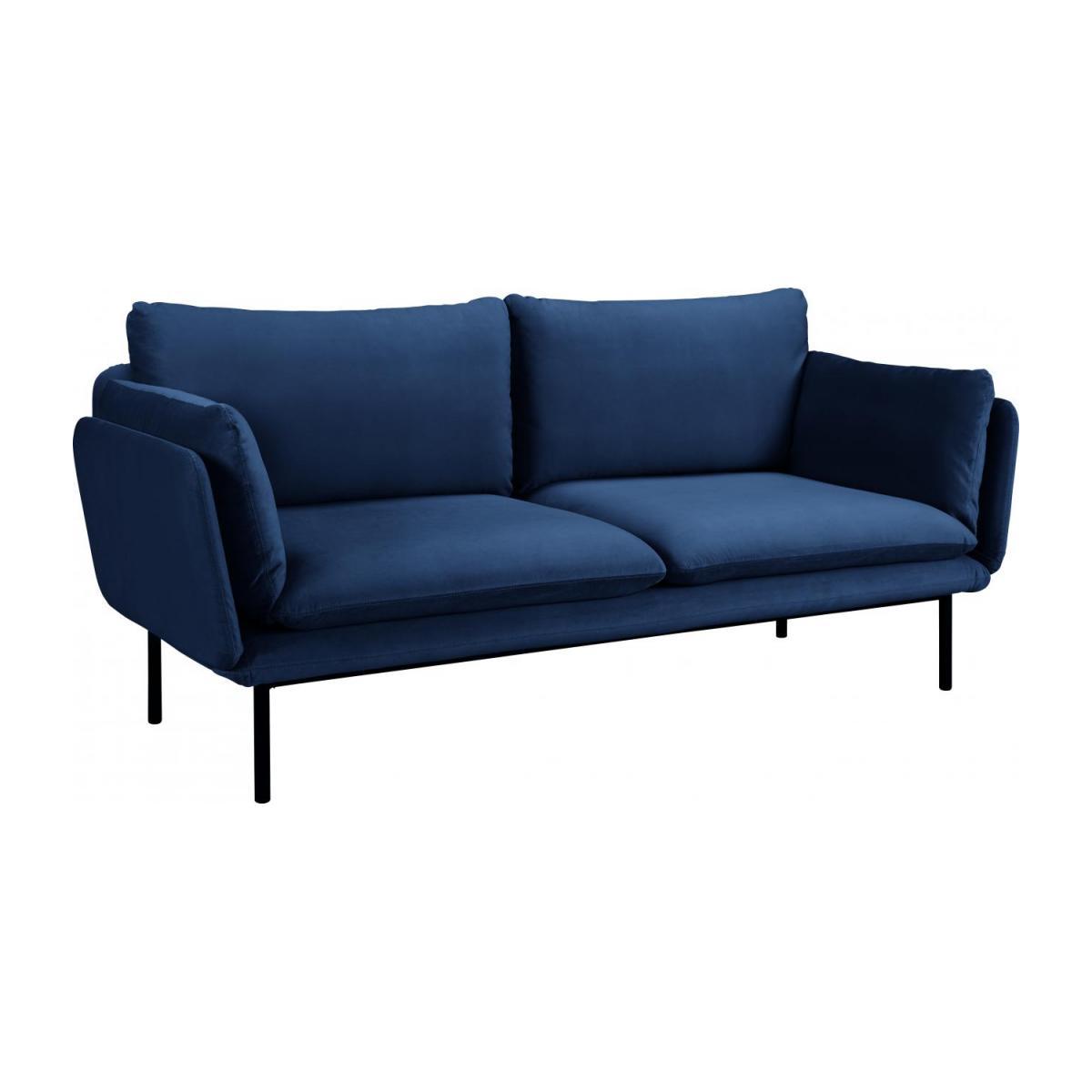 Full Size of Riva 3 Sitzer Sofa Aus Samt Marineblau Habitat Polyrattan Mit Bettkasten Garnitur Teilig Big Grau Kleines Wohnzimmer Xxxl Karup Poco Tom Tailor Hülsta Xxl Sofa Sofa Samt