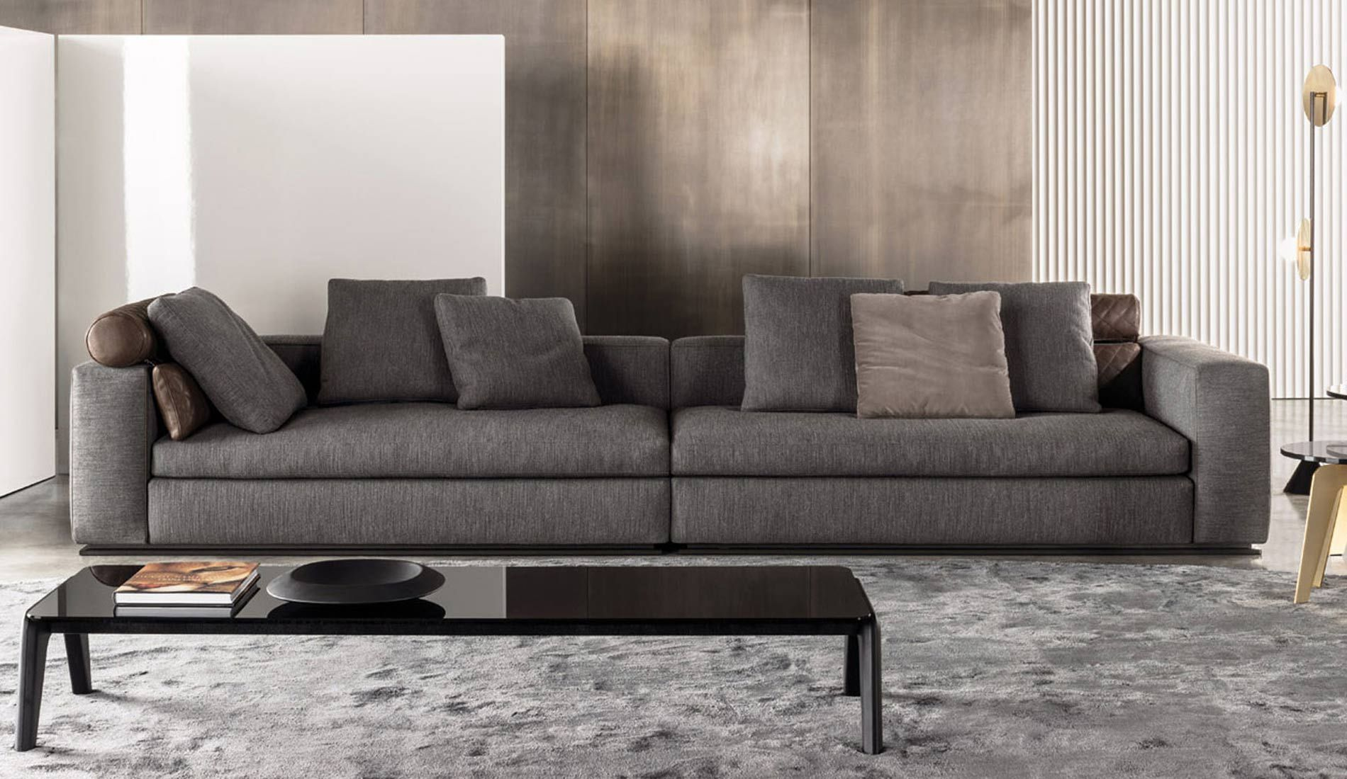 Full Size of Minotti Sofa Alexander Outlet Bed Dimensions Sleeper Indiana Leonard 368x105xh86 1xleft 1xright Fabric Rattan Günstiges Xxl Günstig Grau Federkern Big Sofa Minotti Sofa