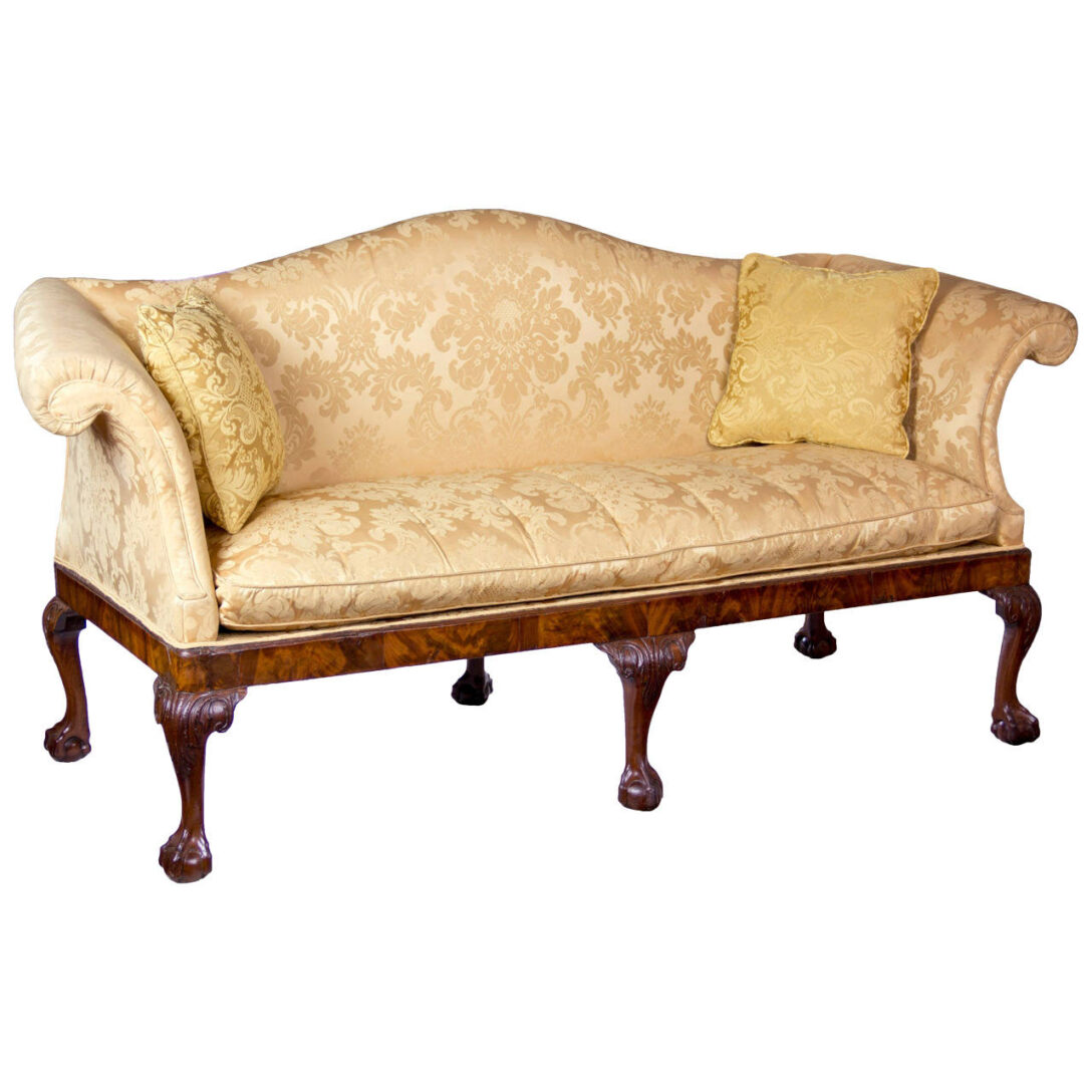 Large Size of Chippendale Style Sofa Table For Sale History Furniture Cover Uk Reproduction Slipcover Sofas Ethan Allen Lane 1stdibs Camelback Claw Ball Feet Irish Circa Sofa Chippendale Sofa