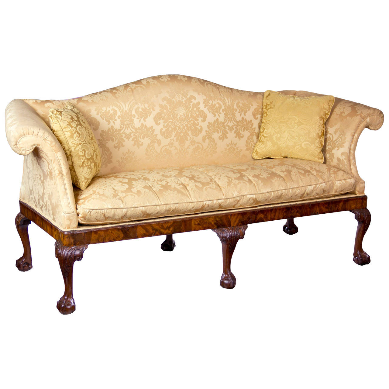 Full Size of Chippendale Style Sofa Table For Sale History Furniture Cover Uk Reproduction Slipcover Sofas Ethan Allen Lane 1stdibs Camelback Claw Ball Feet Irish Circa Sofa Chippendale Sofa