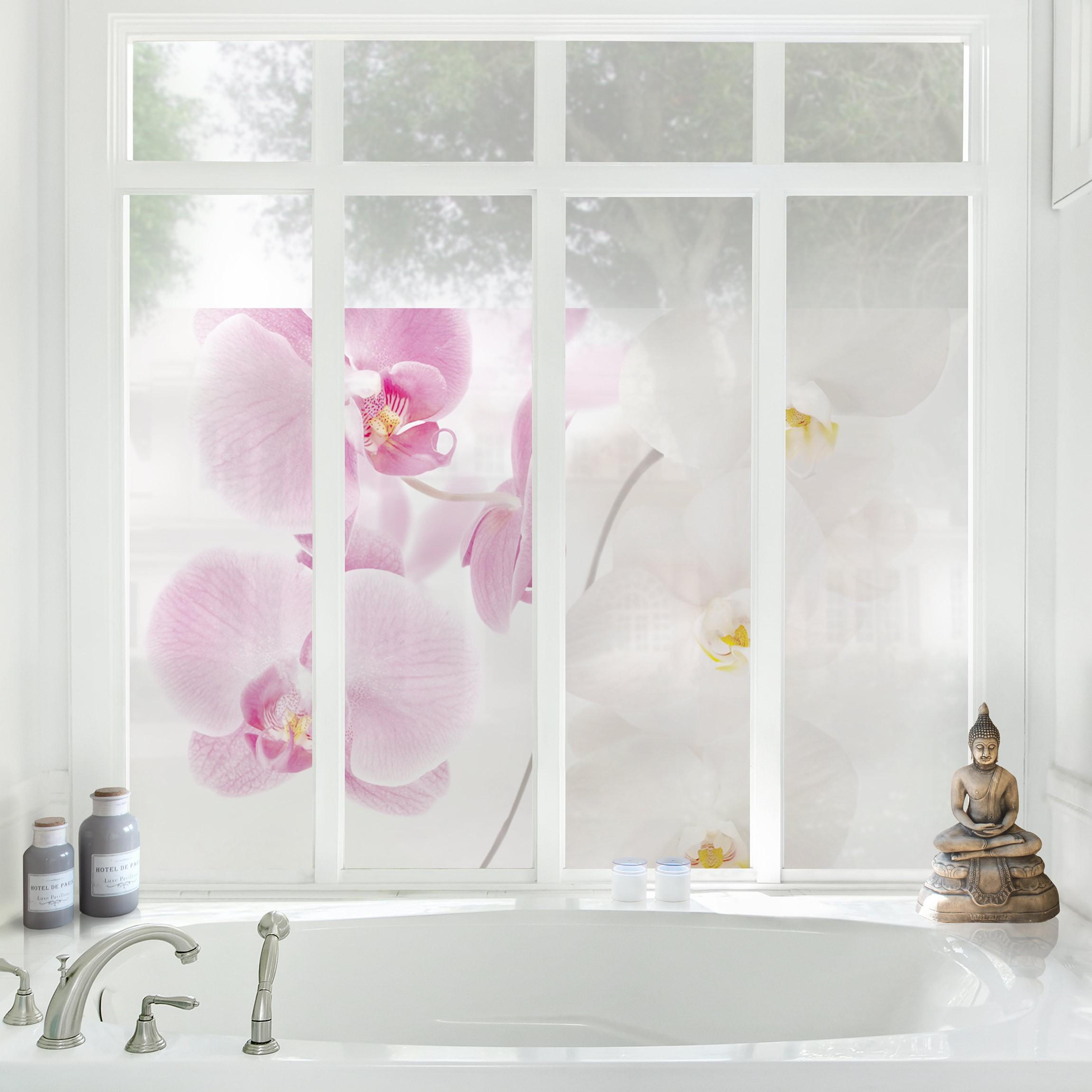Full Size of Orchideenbild Fensterfolie Sichtschutz Fenster Delicate Orchids Sofa Für Esszimmer Sichtschutzfolien Velux Ersatzteile Zwangsbelüftung Nachrüsten Fenster Sichtschutzfolie Für Fenster