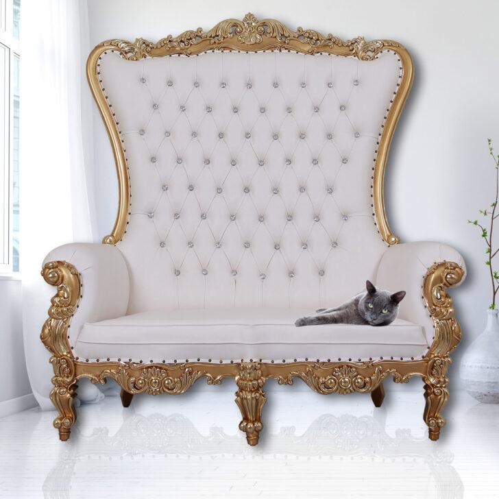 Medium Size of Sofa Barock King Chair Luxus Mit Strasssteinen Jb Lashes L Form Sitzhöhe 55 Cm Muuto Sitzsack Echtleder Brühl Wildleder Hussen Xxxl Kolonialstil 2 Sitzer Sofa Sofa Barock