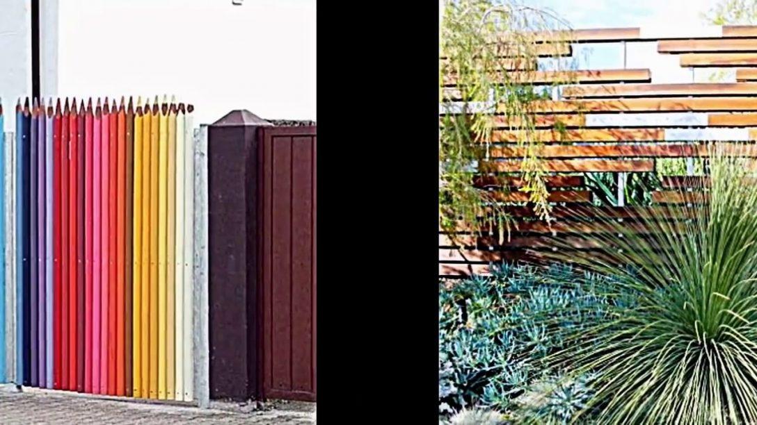 Large Size of Kreative Garten Zaun Design Ideen Ein Highlight Im Bewässerung Automatisch Sichtschutz Spielgeräte Für Den Gewächshaus Brunnen Pergola Loungemöbel Holz Garten Garten Zaun