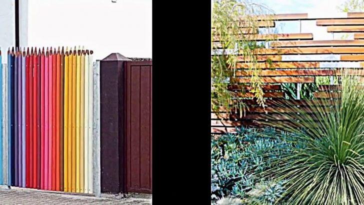 Medium Size of Kreative Garten Zaun Design Ideen Ein Highlight Im Bewässerung Automatisch Sichtschutz Spielgeräte Für Den Gewächshaus Brunnen Pergola Loungemöbel Holz Garten Garten Zaun