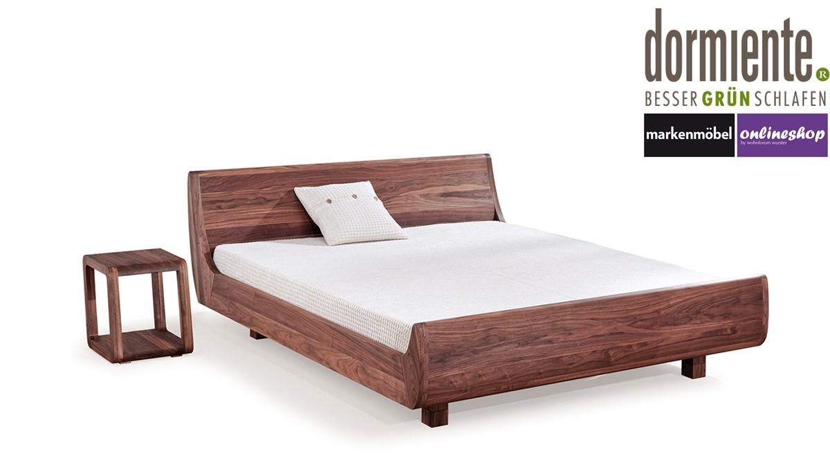 Full Size of Dormiente Massivholz Bett Mola 180 200 Cm 5 Verschiedene Holz Selber Bauen 180x200 Rauch Betten Schrank 120x200 Weiß Esstisch Nussbaum Bei Ikea Günstig Bett Bett Nussbaum 180x200