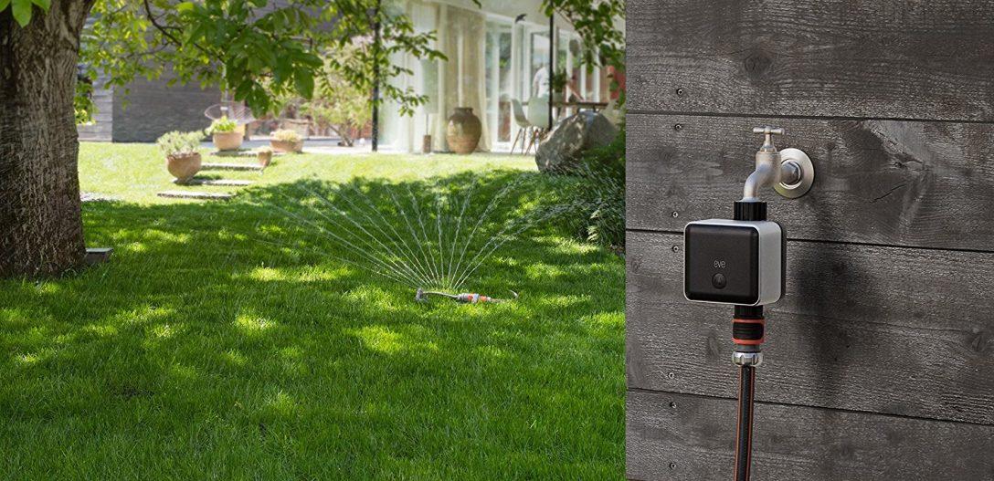 Large Size of Bewässerungssysteme Garten Test Elgato Eve Aqua Das Smarte Bewsserungssystem Sichtschutz Holz Bewässerung Automatisch Wohnen Und Abo Lounge Möbel Eckbank Garten Bewässerungssysteme Garten Test