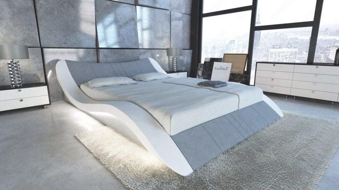 Large Size of Wasser Bett Design Wasserbett Frankfurt In Stoff Mit Led Beleuchtung Platzsparend 140x200 Weiß Team 7 Betten Hohe Bette Badewanne 220 X 200 100x200 Bett Wasser Bett