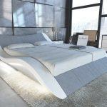 Wasser Bett Design Wasserbett Frankfurt In Stoff Mit Led Beleuchtung Platzsparend 140x200 Weiß Team 7 Betten Hohe Bette Badewanne 220 X 200 100x200 Bett Wasser Bett