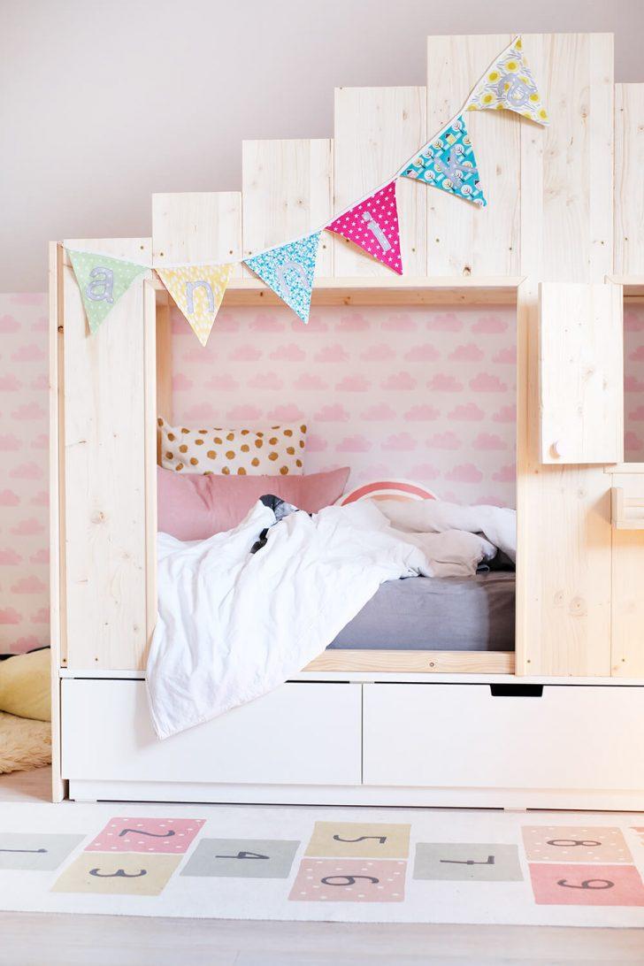 Medium Size of Betten Bei Ikea Diy Bett Fr Das Kinderzimmer Wie Aus Dem Nordli Ein Luxus Mit Bettkasten Treca 160x200 Hamburg Rauch 140x200 Antike Joop Schubladen Schöne Bett Betten Bei Ikea