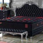 Bett Komplett Casa Padrino Barock Doppelbett Schwarz Silber Prunkvolles Samt Konfigurieren Betten Kaufen 140x200 Kopfteil 140 Minimalistisch Outlet Boxspring Bett Bett Komplett