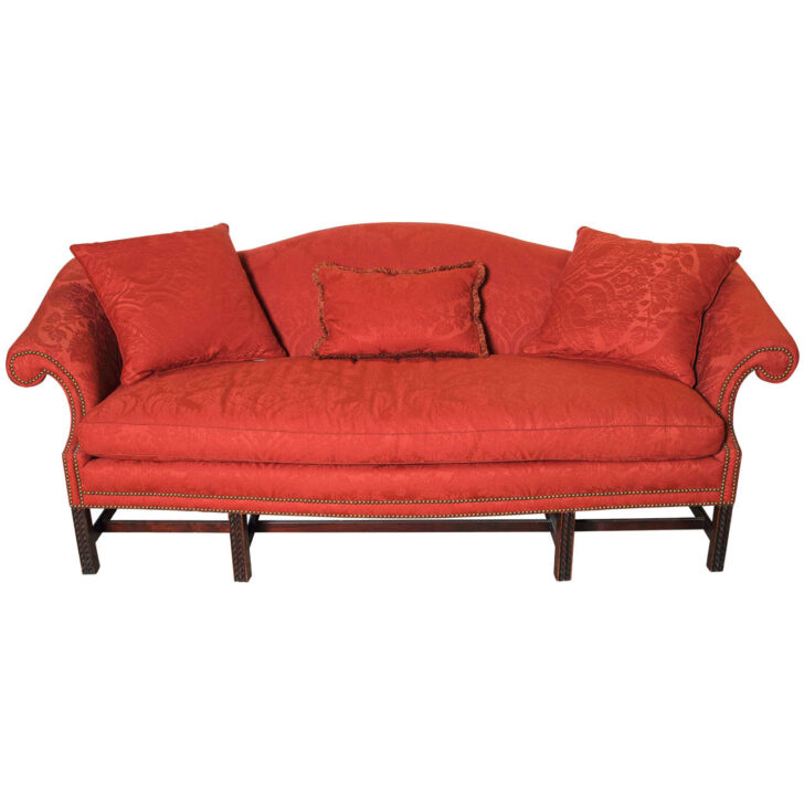 Medium Size of English Chippendale Style Camel Back Sofa For Sale At 1stdibs Dauerschläfer Ottomane Schlafsofa Liegefläche 180x200 Zweisitzer Garnitur 2 Teilig Mit Sofa Chippendale Sofa