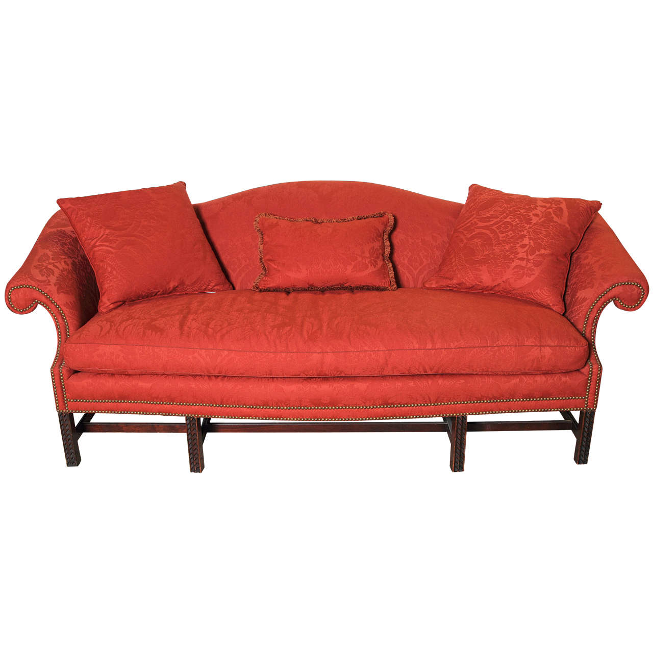 Full Size of English Chippendale Style Camel Back Sofa For Sale At 1stdibs Dauerschläfer Ottomane Schlafsofa Liegefläche 180x200 Zweisitzer Garnitur 2 Teilig Mit Sofa Chippendale Sofa