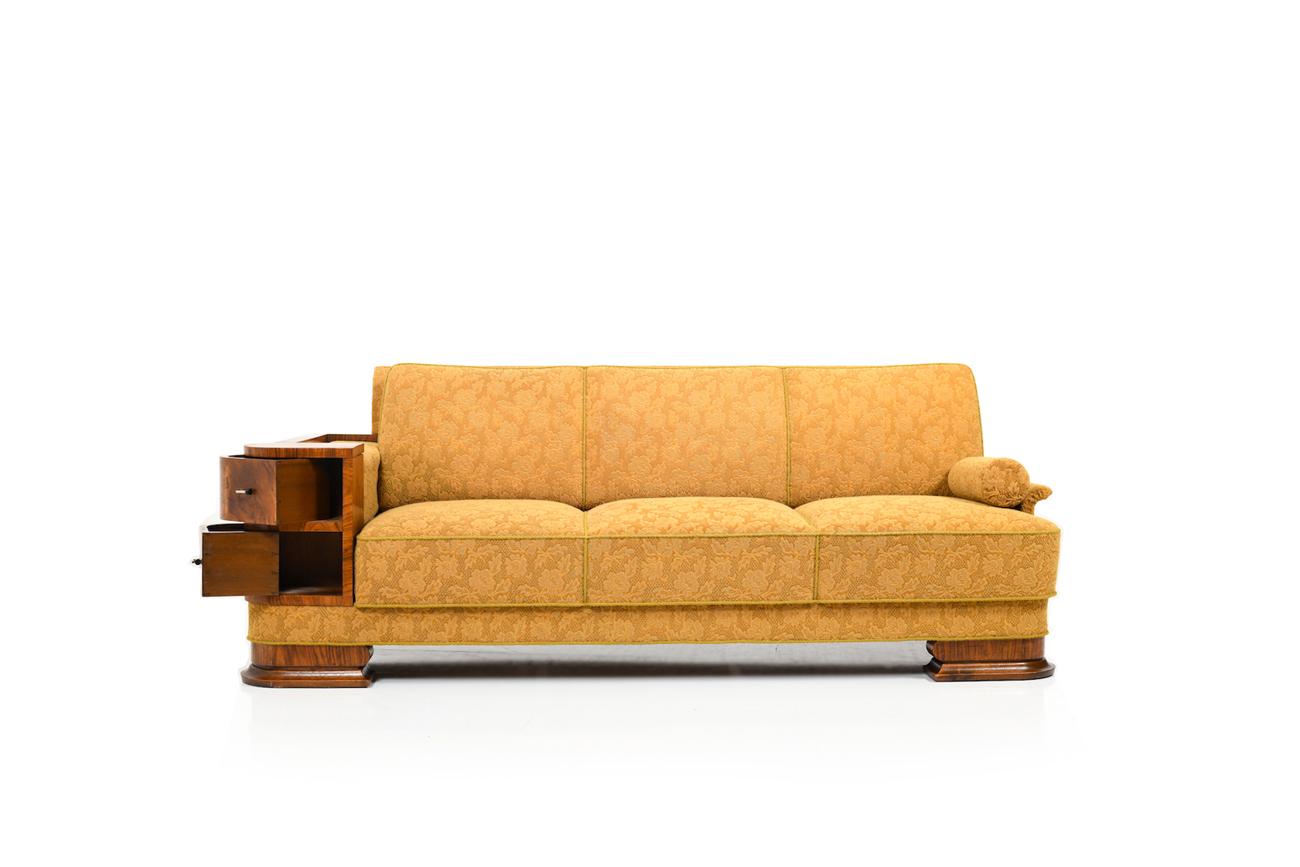 Full Size of Fine Danish Art Deco Sofa Canape 1920s In Original Stand Room Of Hülsta Karup Boxspring Bora Kissen Kunstleder Weiß Big Grau Lounge Garten Le Corbusier Sofa Canape Sofa