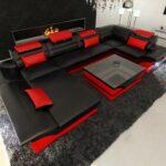 Luxus Sofa Design Wohnlandschaft Enzo U Form In Leder Mit Led Beleuchtung Türkis L Schlaffunktion Elektrisch Garnitur 3 Teilig Polyrattan Xxl Groß Grau Tom Sofa Luxus Sofa