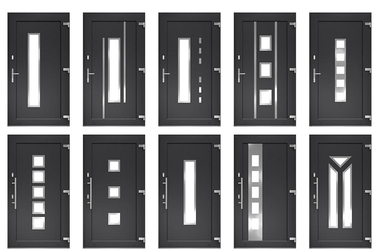 Full Size of Fenster Kunststoff Haustr Mit Integrierter Glaseinsatz Einbruchsicherung Velux Kaufen Fliegengitter Rahmenlose Weihnachtsbeleuchtung Holz Alu Preise Fenster Fenster Kunststoff
