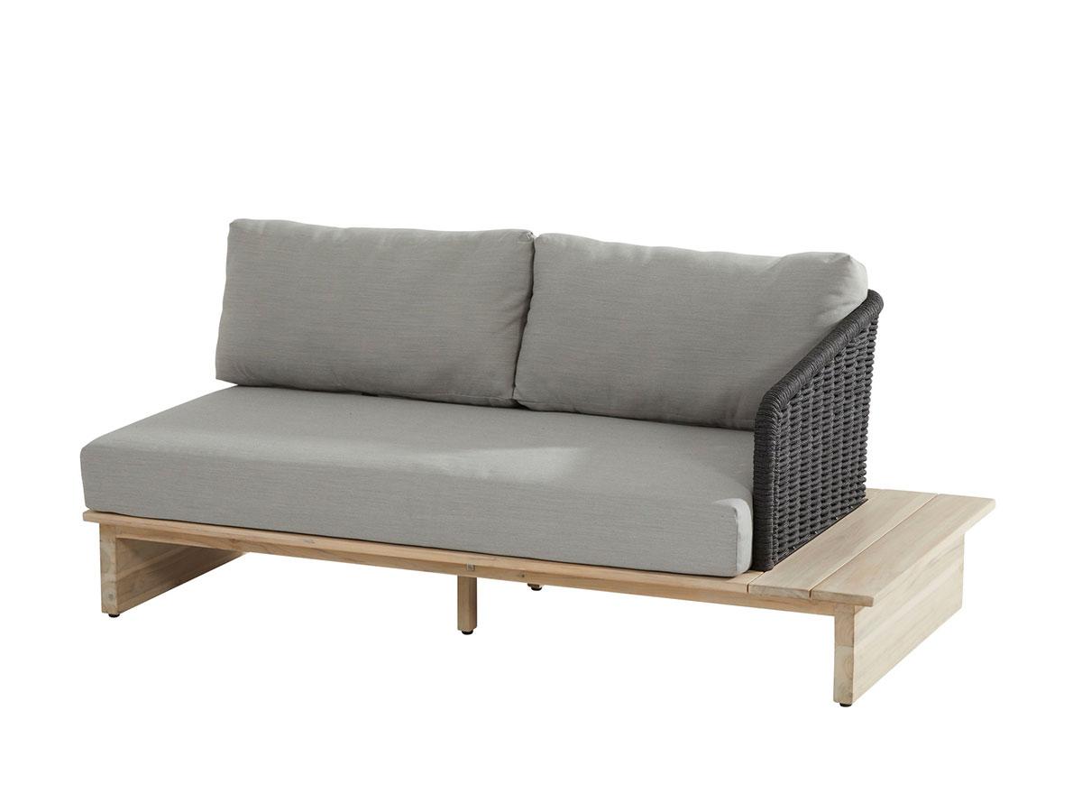 Full Size of 2 Sitzer Sofa 4 Seasons Outdoor Altea Ablage Links Gartenmbel Sofort Lieferbar Riess Ambiente Günstige Betten 140x200 Spannbezug Bett 200x180 Schlafsofa Sofa 2 Sitzer Sofa