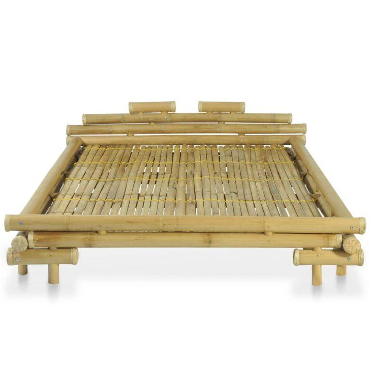 Medium Size of Bambus Bett Bambusbett 140 200 Cm Natur Preisvogel 140x200 Keilkissen Ausziehbar Günstige Betten Tempur 120x200 Balken Ebay 180x200 Clinique Even Better Bett Bambus Bett