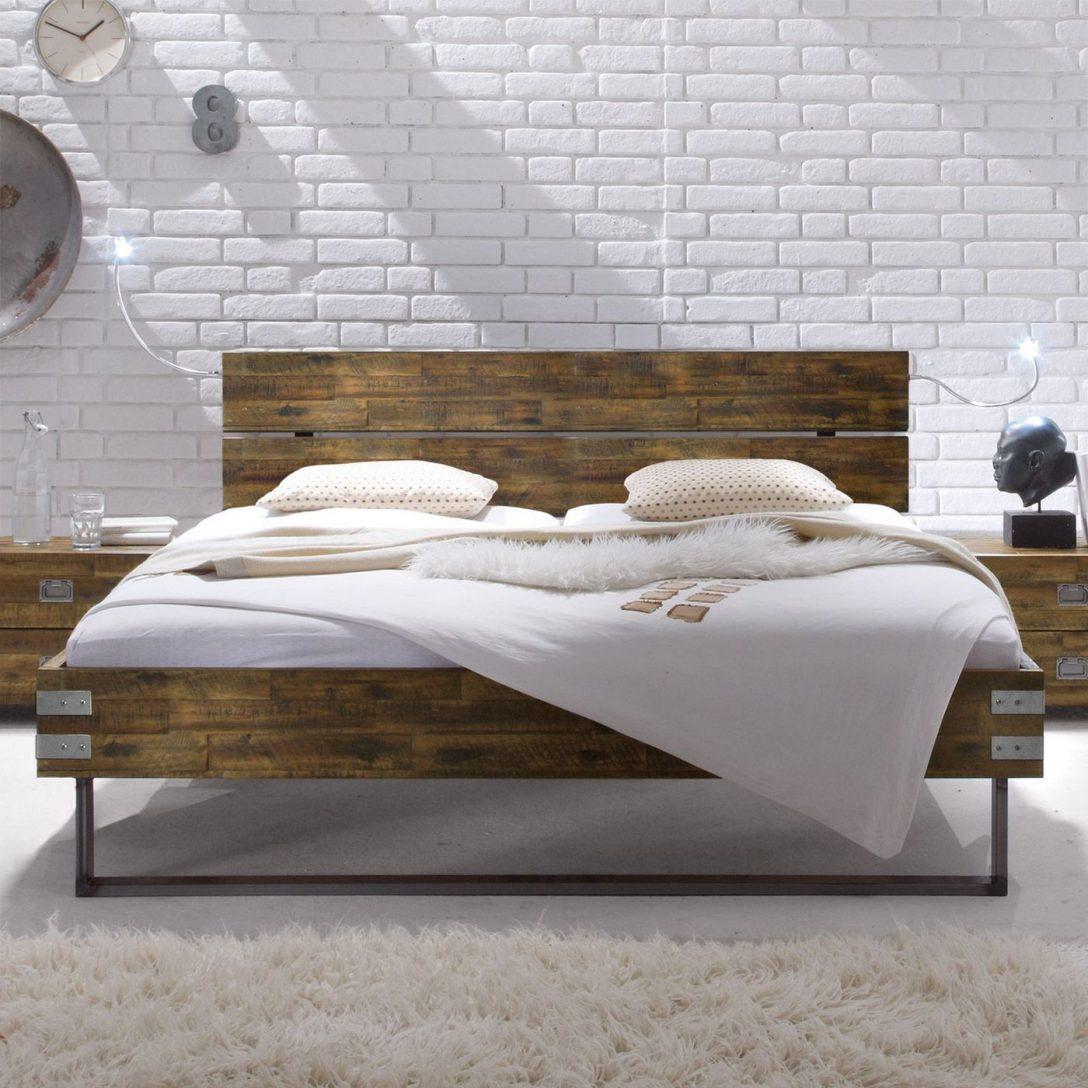 Large Size of Betten Holz Massivholzbett Aus Akazie Mit Stahlkufen Konna Team 7 Rauch 140x200 Massivholz Schlafzimmer Musterring Ruf Preise Ausgefallene Günstige Sofa Bett Betten Holz
